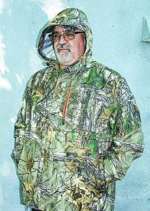 When you need a quality well thought out rain coat, Field & Stream's Triumph Parka as modeled by the author is it.
