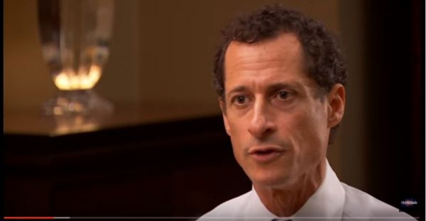 Disgraced former Democrat Congressman Anthony Weiner. (YouTube, BBC)