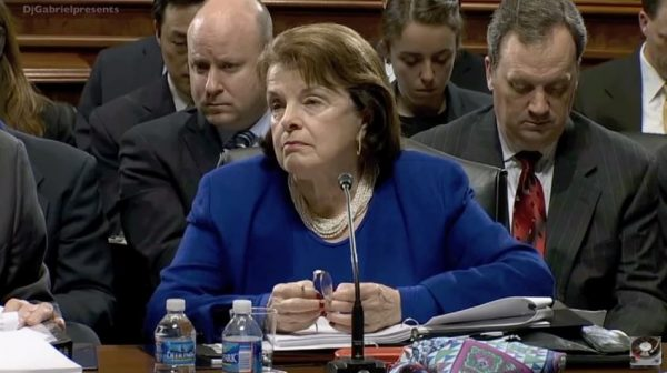 Sen. Dianne Feinstein admitted to 'Face the Nation' that gun control laws wouldn't prevent the Las Vegas attack. (YouTube, Gabbee)