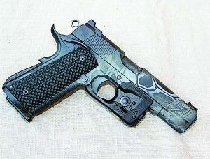 For the 1911 purist, Streamlight's TLR6 for Non-rail 1911s. It mounts securely giving you white light and a red laser.