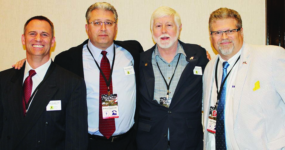The doctors (l-r): Sean Brodale, MD, Arthur Przebinda, MD, Robert Young, MD, and John Edeen, MD.