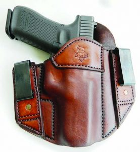 The Sideguard IWB holster is ideal for concealed carry.