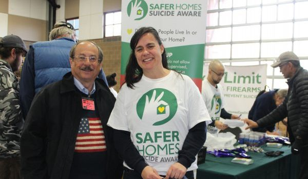 Gun rights leader Alan Gottlieb has championed the Safer Homes Suicide Aware project with Jennifer Stuber, founder of the Forefront program. Dave Workman