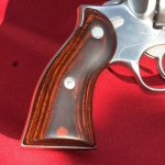 Redhawk is fitted with smooth hardwood grips.