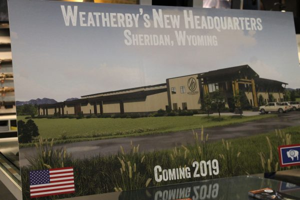 Artist's rendition of new Weatherby headquarters in Sheridan, Wyo. (Dave Workman)