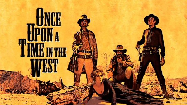 "Publicity artwork for ""Once Upon A Time in the West."" (Screen snip, YouTube)"
