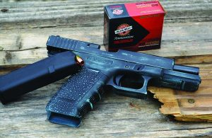 Black Hills Ammunition is a good match for the Glock Model 22.