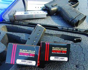 Black Hills Ammunition gave excellent results.