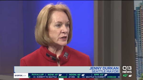 Seattle Mayor Jenny Durkan. (YouTube, KCPQ News)