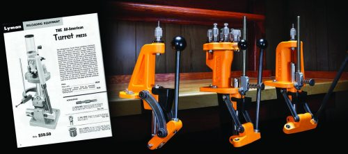 The three new Brass Smith series reloading presses Lyman introduced in 2018.
