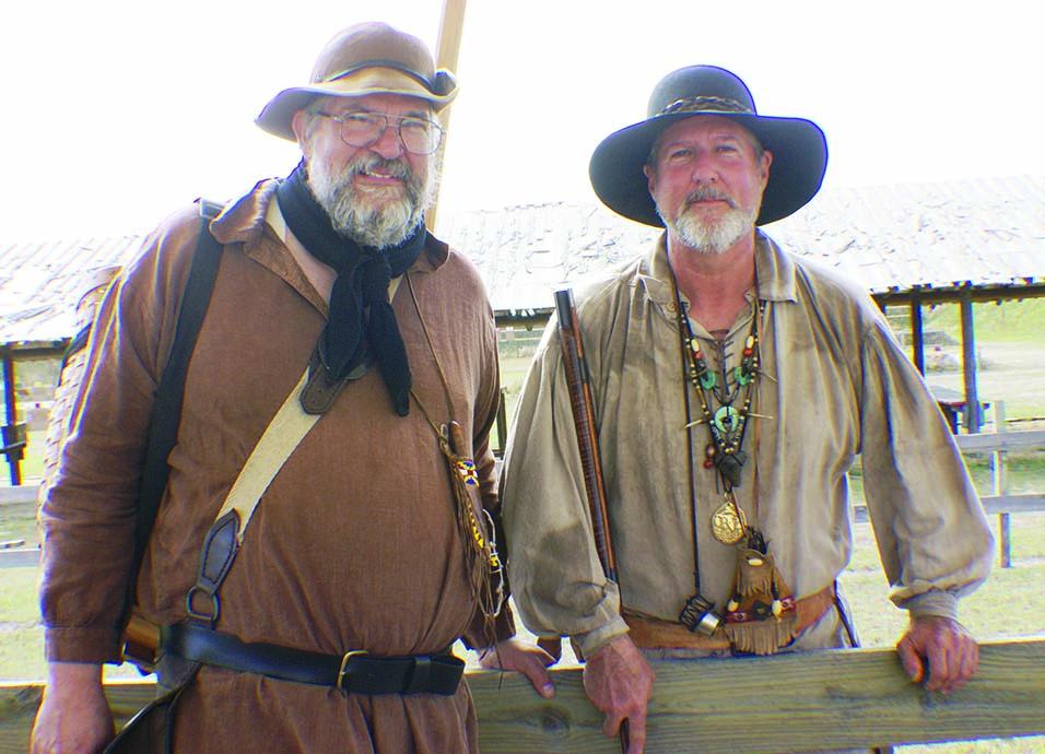 Author (left) with Alafia's Chief Range Officer Mark Landon.