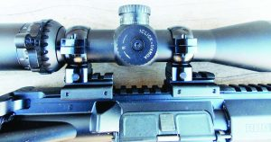 The Eminus scope is simple enough to adjust and zero.