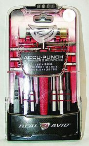 To keep your Accu Punch Hammer and Punches secure they are in a locking case.