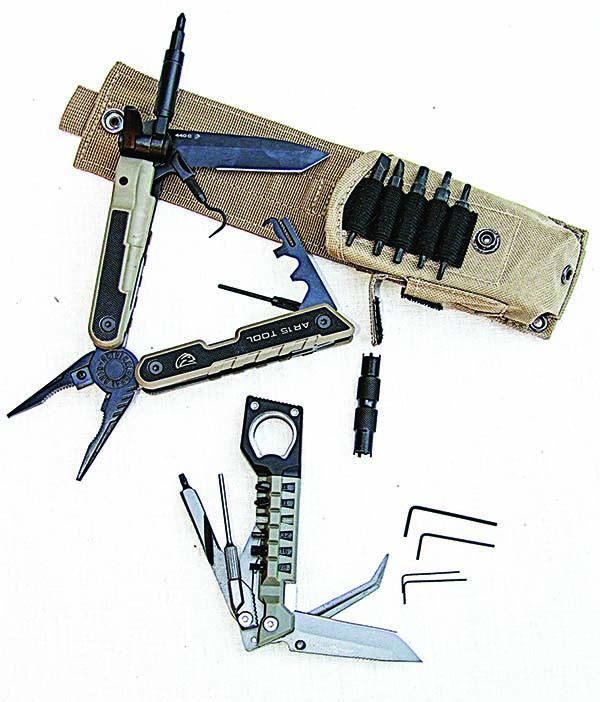 Real Avid's AR and Pistol tools have all the tools you'll need at the range and they are easily carried in your range bag.