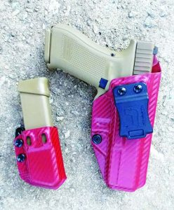 The author found Tulster holsters and magazine carriers good kit.