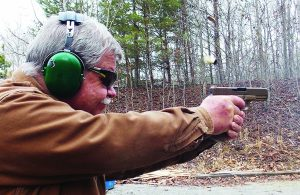 The pistol is a joy to use and fire and the author has depleted his stores of 9mm ammunition over the last few weeks.