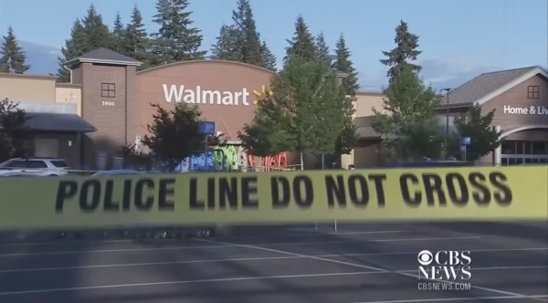 The armed citizen who stopped a rampaging gunman at a Washington State Walmart has issued a statement. (Screen capture, YouTube, CBS News)