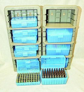 When you need to keep your 9mm and .223/5.56 ammunition secure and organized MTM Case-Gard's Ammunition Racks are the answer.