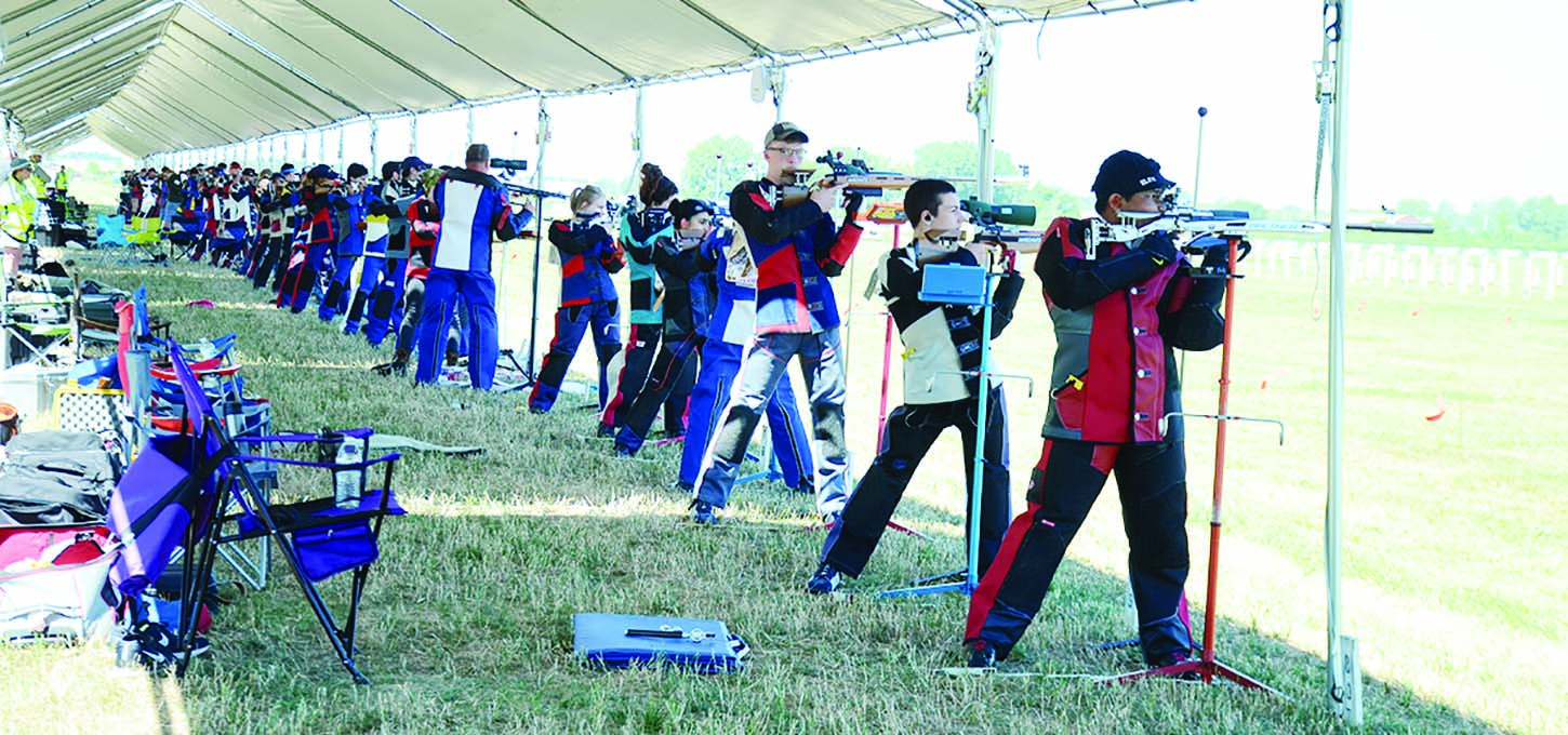 After a short hiatus, the CMP has brought smallbore rifle events back to the Camp Perry National Matches. An array of competitors arrived for the return of the smallbore events to Camp Perry, including prestigious members of the Army Marksmanship Unit. (CMP photo)