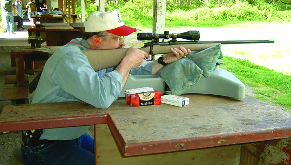 """Workman spends as much range time as possible with his rifles during the """"off season"""" so that he's sure where his rifles shoot time after time."""