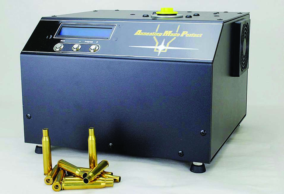 The AMP is the simplest, easiest and safest method for annealing brass.