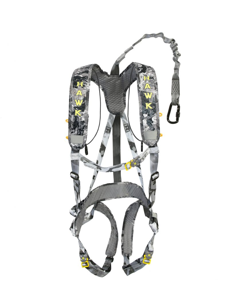 For Tree Stand Hunters: Hawk 'Elevate Lite' Safety Harness ...